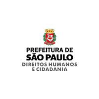 Logo prefeitura de São Paulo - direitos humanos e cidadania.