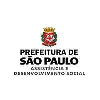 Logo prefeitura de São Paulo - assistência e desenvolvimento social.