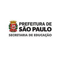 Logo prefeitura de São Paulo - secretaria de educação.