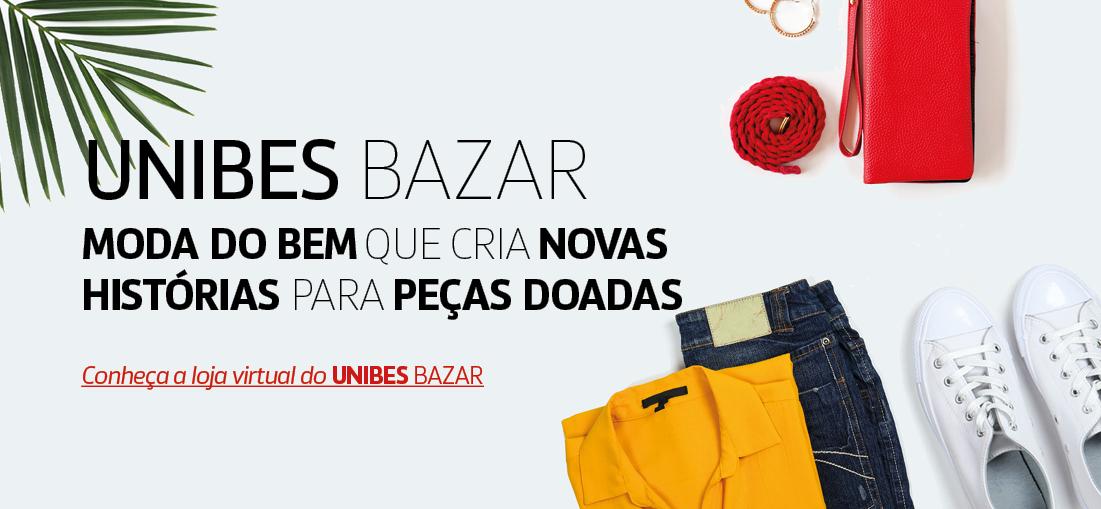 Banner Loja Virtual Unibes Bazar